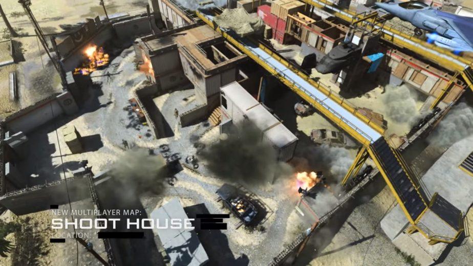 COD Modern Warfare Map Shoot House 2 - JOMIWE GAMING