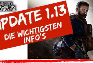 COD Modern Warfare Update 1.13 - JOMIWE GAMING