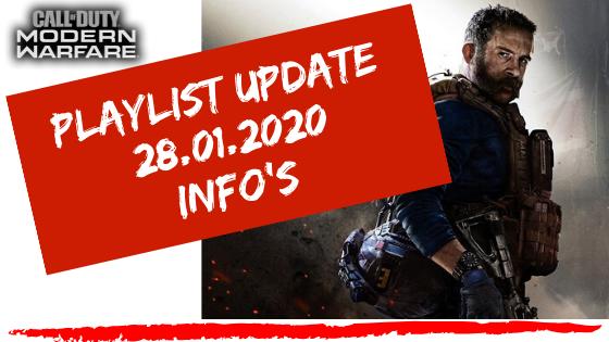 Call of Duty - Modern Warfare - Playlist Update 28.01.2020 - JOMIWE GAMING