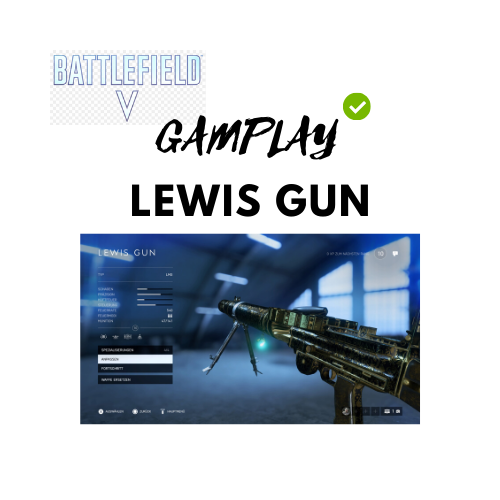Gameplay Lewis Gun - JOMIWE GAMING