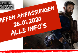 Call of Duty - Modern Warfare - Waffen Anpassungen 28.01.2020 - JOMIWE GAMING