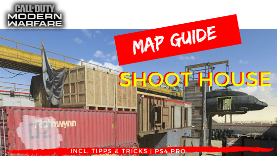 Map Guide Shoot House - JOMIWE GAMING