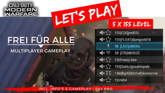Call of Duty | Modern Warfare - Lets Play - Frei für Alle 5x 155ziger - JOMIWE GAMING
