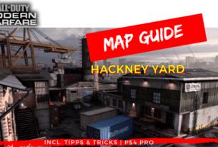 Call of Duty | Modern Warfare - Map Guide Hackney Yard - JOMIWE GAMING