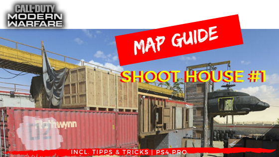 Call of Duty | Modern Warfare - Map Guide SHOOT HOUSE - JOMIWE GAMING