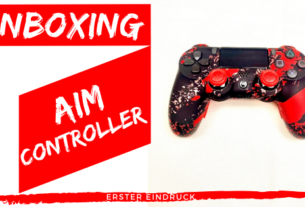 Unboxing AIM Controller- JOMIWE GAMING