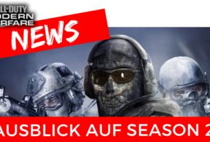 COD Modern Warfare - Ausblick auf Season 2 - JOMIWE GAMING
