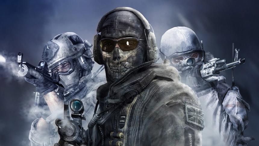 COD Modern Warfare - Ghost - JOMIWE GAMING