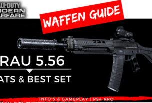 Call of Duty Modern Warfare - Grau 5.56 - JOMIWE GAMING