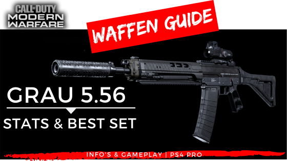 Call of Duty Modern Warfare - Grau 5.56 - JOMIWE GAMING