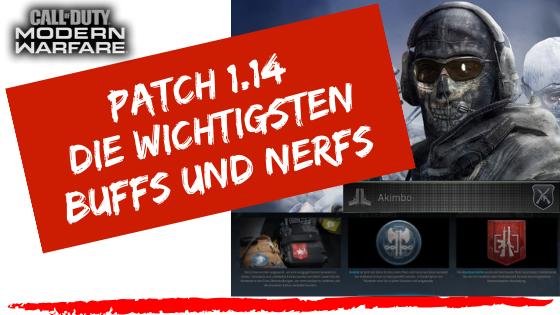Call of Duty | Modern Warfare - Die wichtigsten Buffs und Nerfs - Patch 1.14 | Buffs und Nerfs - JOMIWE GAMING