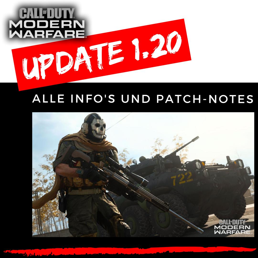 Call of Duty - Modern Warfare | Update 1.20 - 29.04.2020 - Was ändert sich?