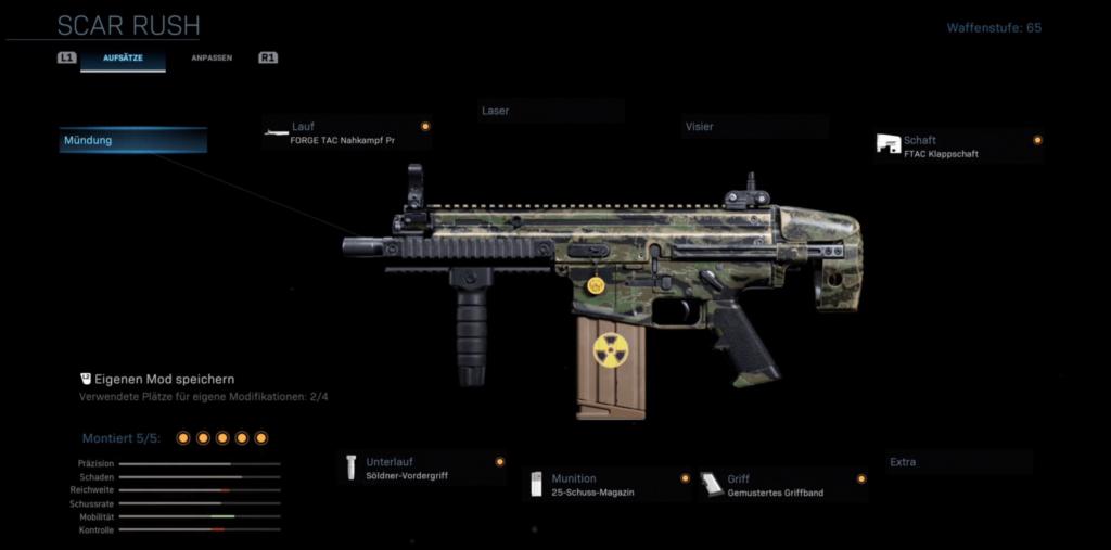 Call of Duty _ Modern Warfare - Road to Gold - SCAR 17 Rush - JOMIWE GAMING