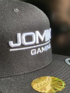 Snapback Team Cap - JOMIWE GAMING - 3. Versuch Bestickung