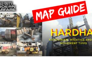 COD Modern Warfare - Map Guide HARDHAT | Sichtlinien, wichtige Spots & Movement Tipps - JOMIWE GAMING