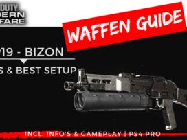 Call of Duty | Modern Warfare – Waffen Guide – PP19 BIZON - JOMIWE GAMING