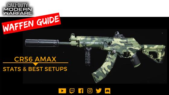Call of Duty | Modern Warfare – Waffen Guide – CR56 AMAX - Beitragsbild - JOMIWE GAMING