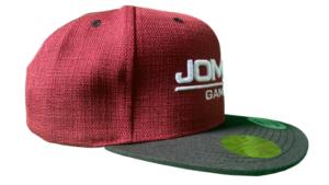 JOMIWE GAMING Team Cap Rot Seite