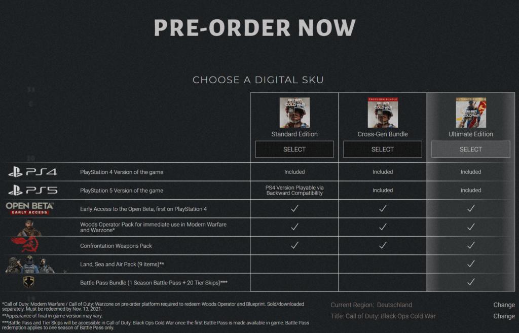 Pre-Order CoD Black Ops Cold War - JOMIWE GAMING