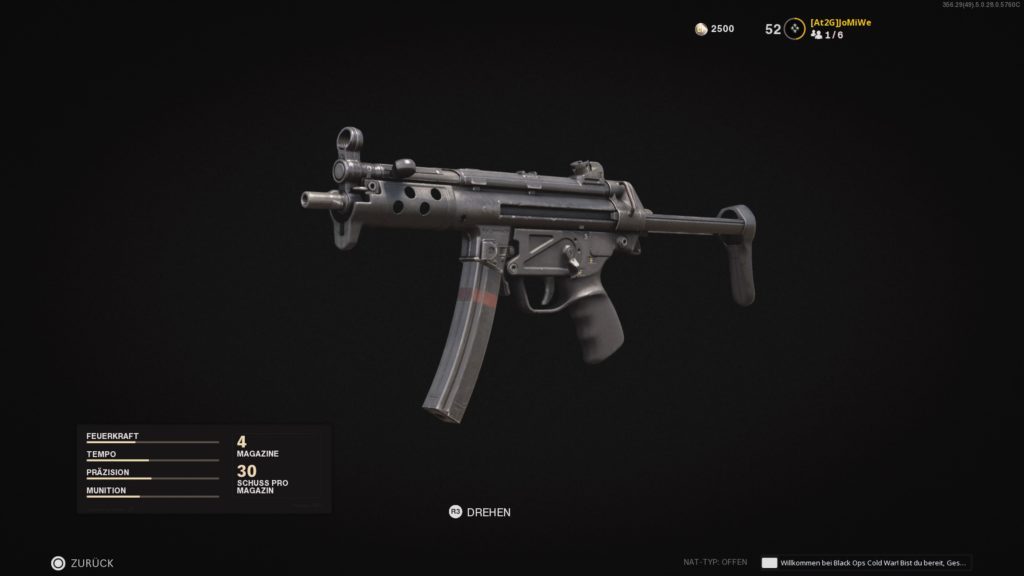 Call of Duty®: Black Ops Cold War - MP5 - JOMIWE GAMING