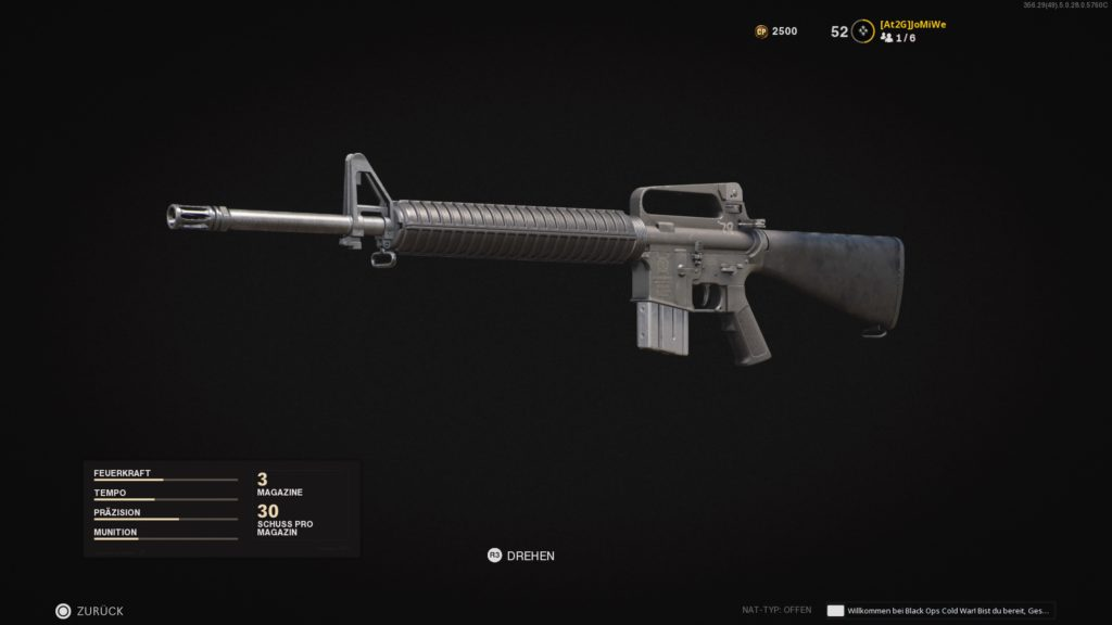Call of Duty®: Black Ops Cold War - M16 - JOMIWE GAMING