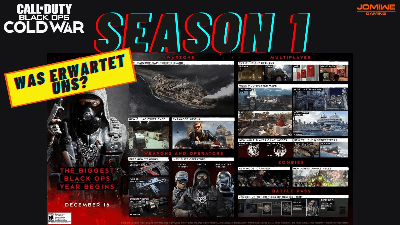 COLD WAR Season 1 - Was erwartet uns? - JOMIWEGAMING