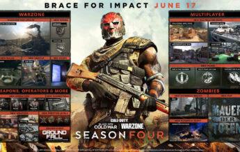 CoD Warzone Cold War Roadmap Season 4 - JoMiWe Gaming