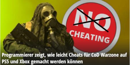 Cheats Konsole - mein.mmo - Call of Duty Warzone - Aktuelle Probleme und Alternativen - JOMIWE GAMING